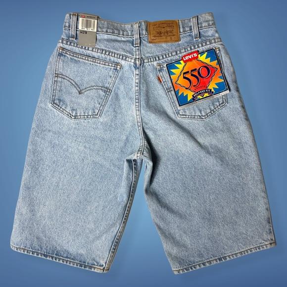 Vintage Levi's 550 Shorts | Orange Tab